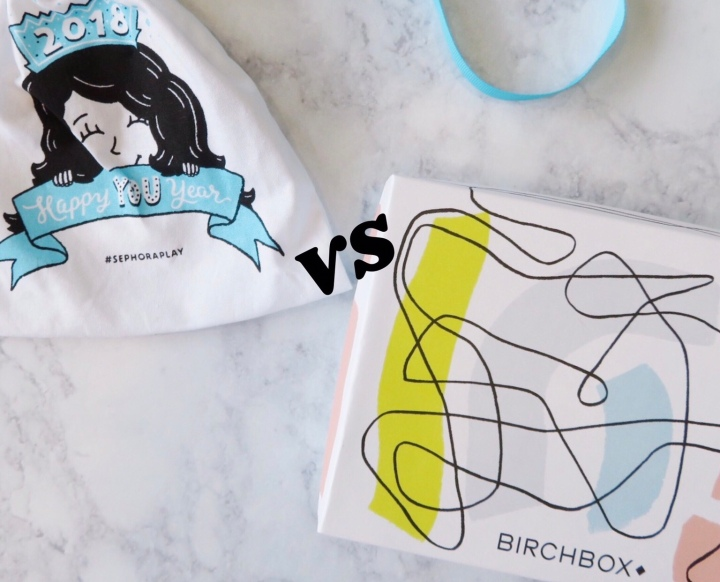 January PLAY! vs Birchbox